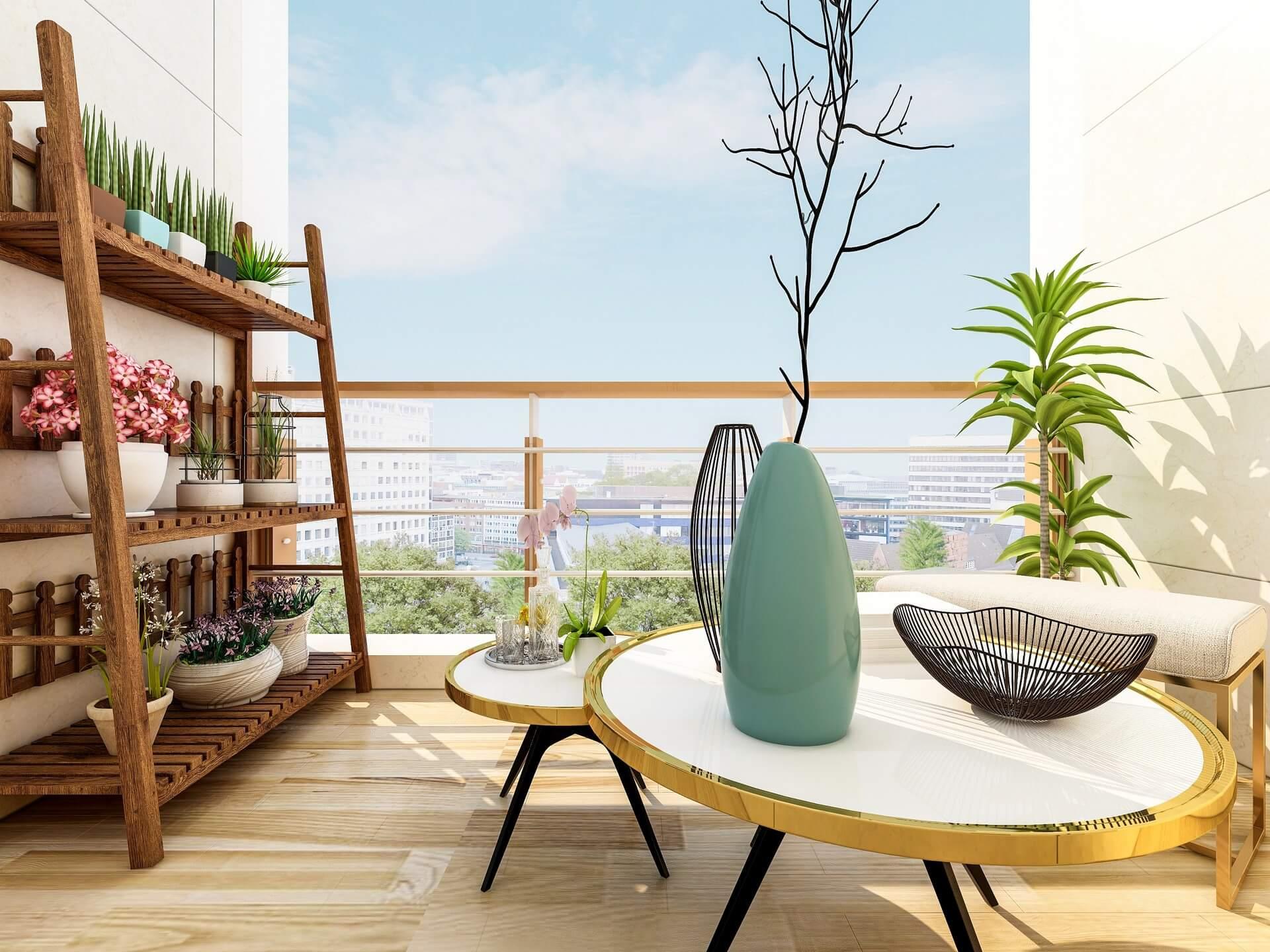 Opracowanie projektu balkonu, tarasu i ogrodu
